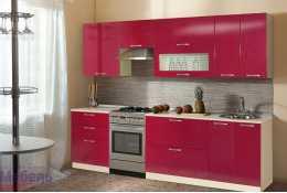 Модульная кухня Шанталь 2 Рубин