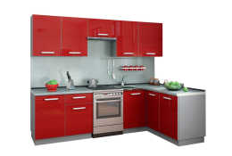 Кухня Симпл угловая 2700х1500 мм