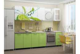 Кухня Лайм 2000 мм фотопечать