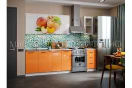 Кухня Персик 2000 мм фотопечать